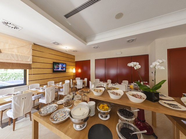 panorama 360° Interno Sala Colazione Hotel Cristallo Giulianova